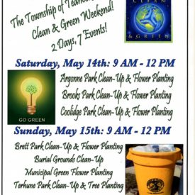 Teaneck's Clean and Green Weekend